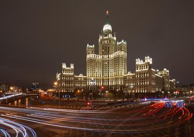Дом на Котельнической набережной. Обычный взгляд Москва Дом на Котельнической набережной