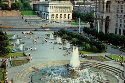 Киев 80-х. Киев Майдан