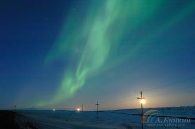 Энергетика будущего Северное сияние Чукотка