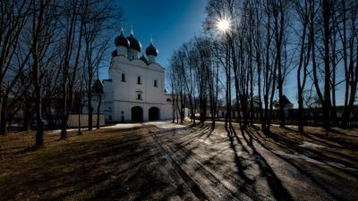 Церковь Сергия Радонежского в Борисоглебском монастыре, Ярославской обл.