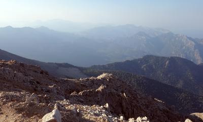 Высоко в горах...
