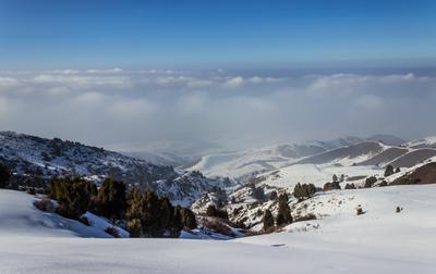 Над облаками_Оору-сай Киргизия горы