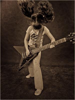 Хэви металл Детский фотограф в Самаре и Тольятти, Рок, Хэви метал, дети, детские фотосессии в студии
