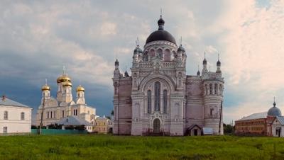 Казанский монастырь монастырь вера панорама