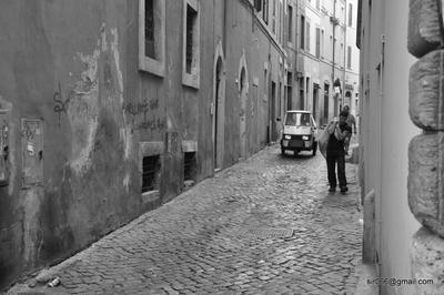Рим, улица, 2009