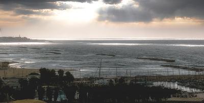 Море. море солнце берег яхты причал