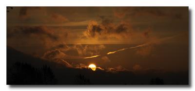 Восход луны...