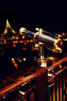 Вид с Эйфелевой башни Париж Эйфелева башня