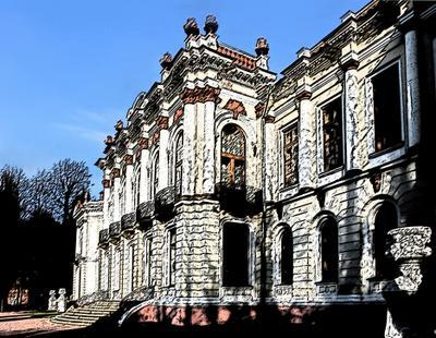 Усадьба Петровско-Разумовское Москва архитектура усадьба