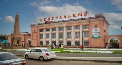 *** Россия Улан-Удэ Бурятия город вид