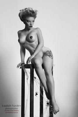 Natalie Rose art vavilova portret portrait art_vavilov art_protivpravil арт портрет девушка ню эротика nu