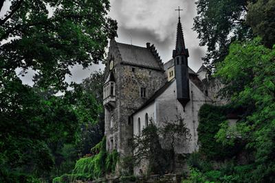 Замок Экк замок германия бавария