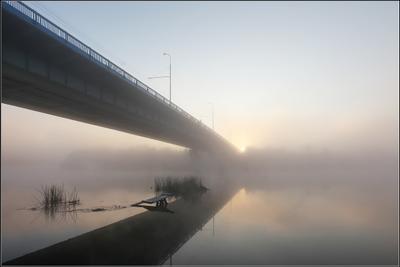 туманный восход