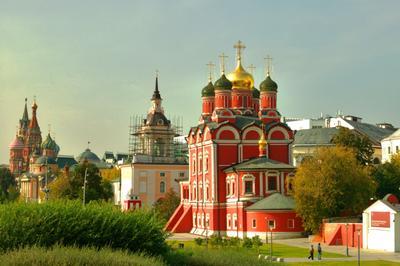 Знаменский собор в Зарядье