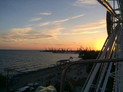 Закат Закат в порту