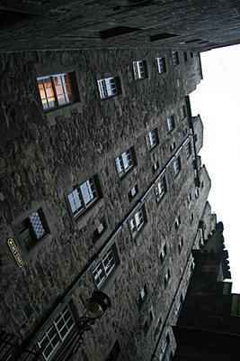 Средневековые небоскребы. эдинбург шотландия небоскреб