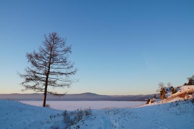 Тишина Урал озеро