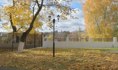 Бабье лето осень парк