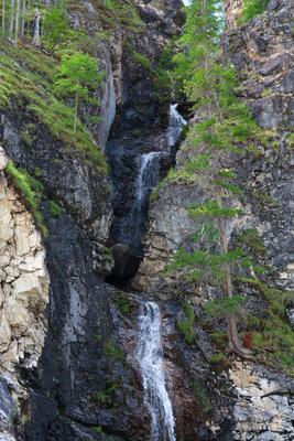Водопад (Найди мишку)