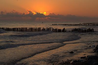 Балтийское утро Балтика рассвет море