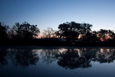 Рассвет Рассвет утро река природа ночь небо