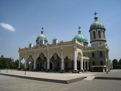 Храм Medhanealem Cathedral. Эфиопия храм церковь