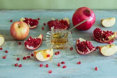 Шана Това шана това новый год Израиль гранат яблоко мед