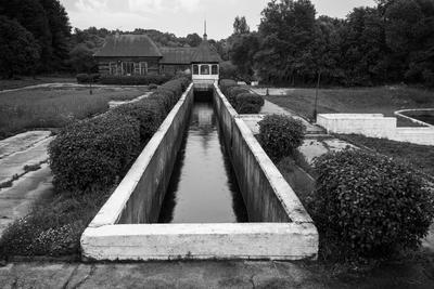 *** архитектура здание канал плотина Волоколамск