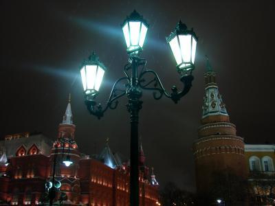 Московская Ночь город