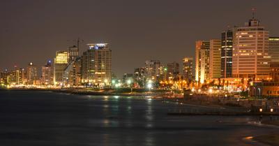Вечерний Тель Авив