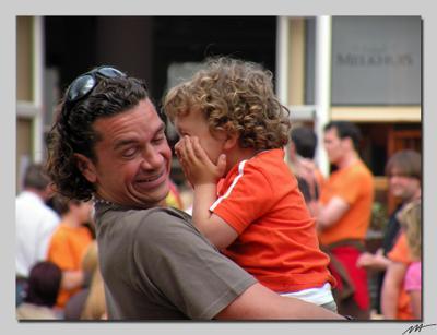День Королевы (1) День, рожденья, королева, оранжевый, праздник, Амстердам, Голландия, Нидерланды