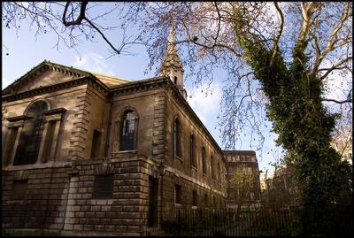 Угол лондон церковь угол