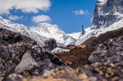Патибхара, 7140м Патибхара, Гималаи, Непал