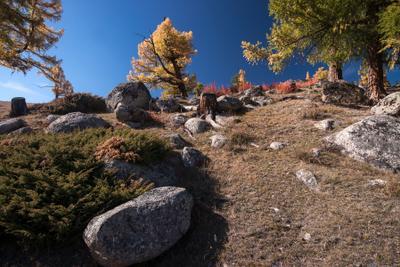 Горный Алтай в осеннем 2 Горный Алтай осень горы Джазатор
