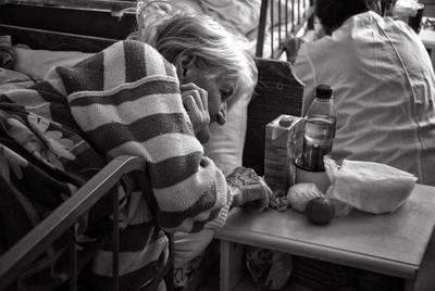 Дом престарелых боль грусть одиночество тоска