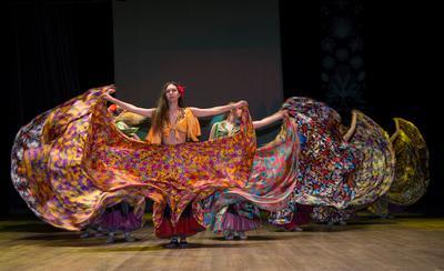 Цыганский хореография юбилей