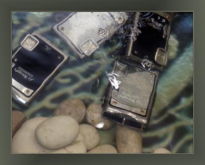 Заплыв фото под водой