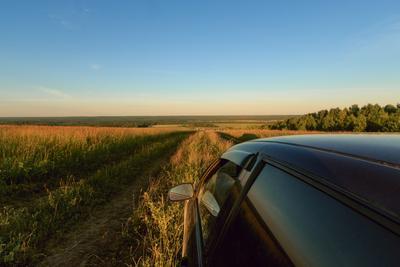 Дорога с горы Чукша Чукша Марий Эл пейзаж лето