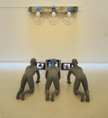 В музее современного искусства Бангкока