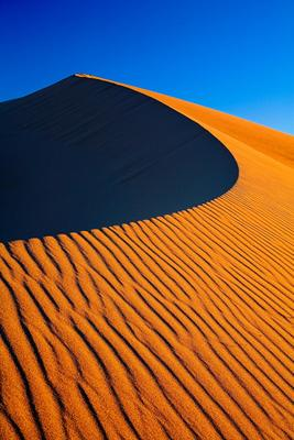 Просто песок... death valley sand dune mesquite flat california usa