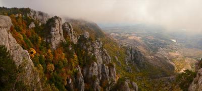 Бархатный сезон Крым Осень Демирджи