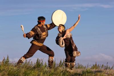 Чукотский народный танец Чукотка