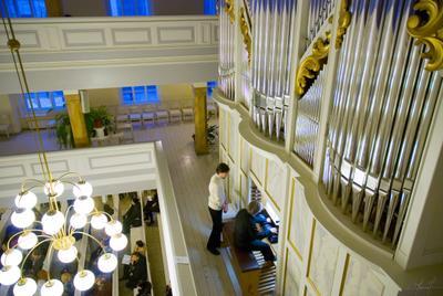 In Concert Орган Organ концерт concert церковь св Марии Marian kirkko