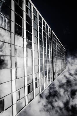 Гриф Дома Дом гитара небоскреб офис здание