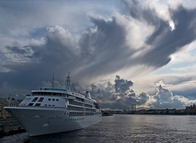 spb.silver cloud silver cloud корабль облако