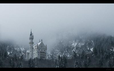 Schloß Neuschwanstein Schloß Neuschwanstein Замок Нойшванштайн Германия Бавария Людовиг 2 сказочный замок