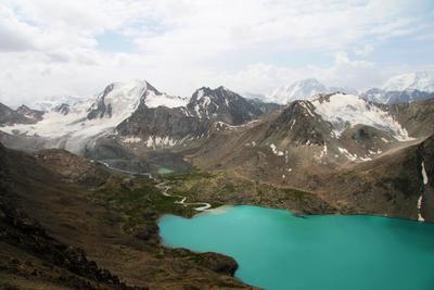 Озеро Ала-Куль Кыргызстан