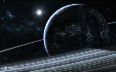 Terra Insomnia terra insomnia pr3t3nd3r space future sci-fi planet rings galaxy stars терра инсомния космос будущее фантастика планета кольца звезды галактика туманность