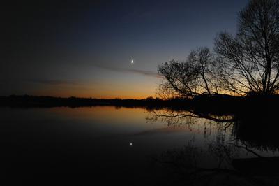 Лунное безмолвие. Озеро Месяц