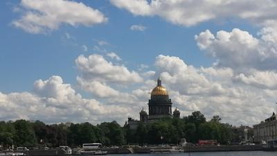 С Днём Города Весна май Санкт-Петербург 2021